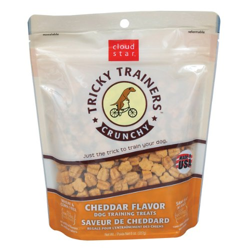 Cloud Star Tricky Trainers Crunchy Dog Treats Cheddar — 8 oz, My Pet Supplies