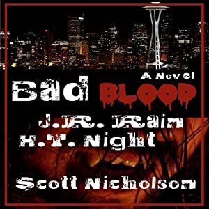 Bad Blood: A Vampire Thriller (The Spider Trilogy Book 1) Audiobook