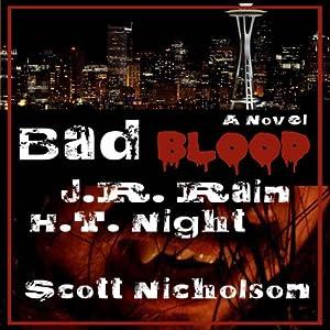 Bad Blood: A Vampire Thriller (The Spider Trilogy Book 1) Audiobook
