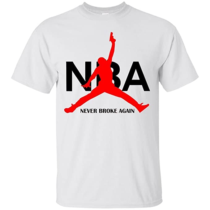 c04b3fd78 Image Unavailable. Image not available for. Color: Youngboy Shirt - NBA Never  Broke Again White T ...