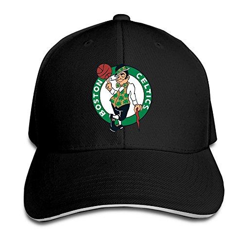 Show Time Boston Logo Celtics Unisex Baseball Hat Adjustable Cap Black