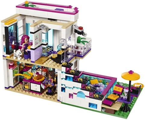 LEGO Friends - Pop Star: casa de Livi (41135): Amazon.es: Juguetes ...