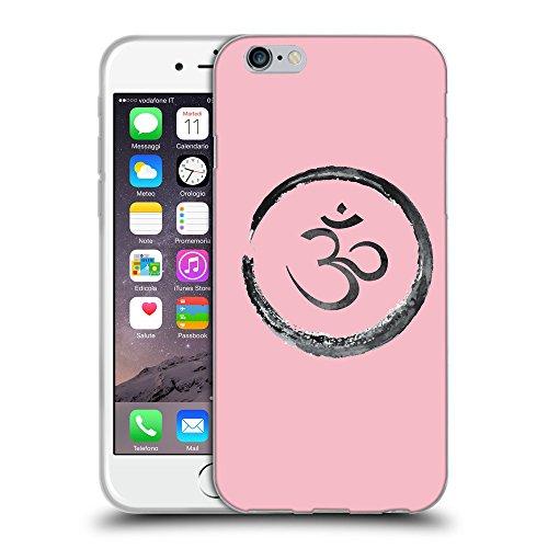 GoGoMobile Coque de Protection TPU Silicone Case pour // Q07660630 Bouddha 1 Rose // Apple iPhone 7