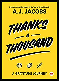 Book Cover: Thanks A Thousand: A Gratitude Journey