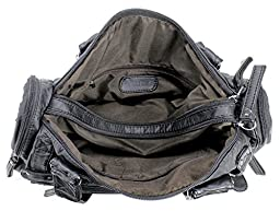 Scarleton Soft Barrel Shoulder Bag H148501 - Black