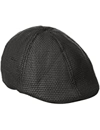 Mens Victor Straw Driving Cap