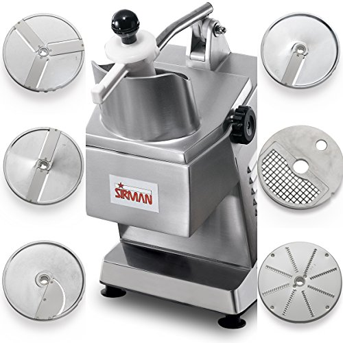 Continuous Feed Food Processor - Sirman 40752558W6 TM A6 Continuous Feed Food Processor, 6 Plates Included (Pack of 7)