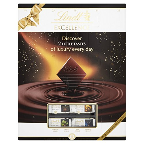 Lindt Excellence Chocolate Advent Calendar 275 g