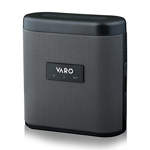 VARO Portable WiFi + Bluetooth Multi-Room Speaker, Water-Resistant Speaker, Sidekick (iOS Only)