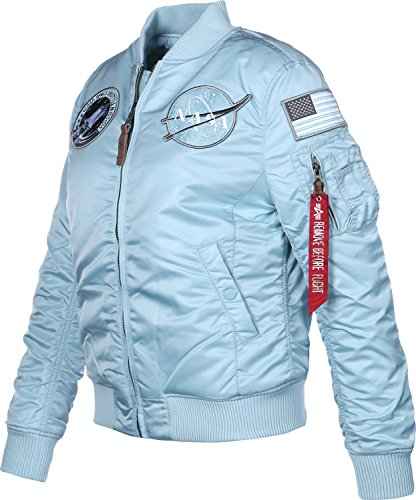 Nasa FV Air Industries Blue blouson W MA 1 Alpha wIx7fqUAa