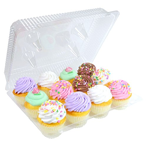 1 Dozen Cupcake Container (12 cavities), 6 ct. by Cake S.O.S.
