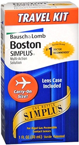 PACK OF 6 - Boston: Simplus Travel Kit Multi-Action Solution, 1 Fl Oz by Generic (Image #4)