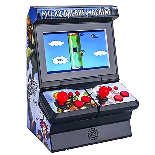 미니 아케이드 게임 기계 휴대용 소형 게임 콘솔 300 고전적인 복고풍 게임 4.3TFT 색깔 스크린 연결 지원을 TV 할 수 있습 1-2 게임 플레이어