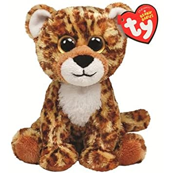 e32fdb606ce Image Unavailable. Image not available for. Color  Ty Beanie Baby Spotter  Plush - Leopard