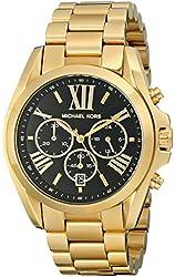 Michael Kors Women's Bradshaw Gold-Tone Bracelet Watch MK5739