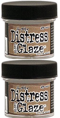Ranger Tim Holtz Distress Micro Glaze, 1 oz - TWO PACK Microglaze by Ranger