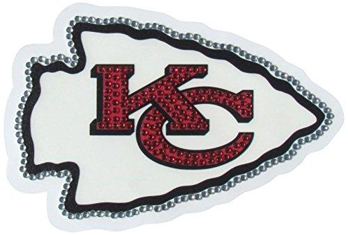 (Siskiyou NFL Kansas City Chiefs Vinyl Bling Decals, Large)