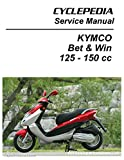 CPP-211-Print KYMCO Bet & Win 125 and 150 Service Manual Printed by CYCLEPEDIA