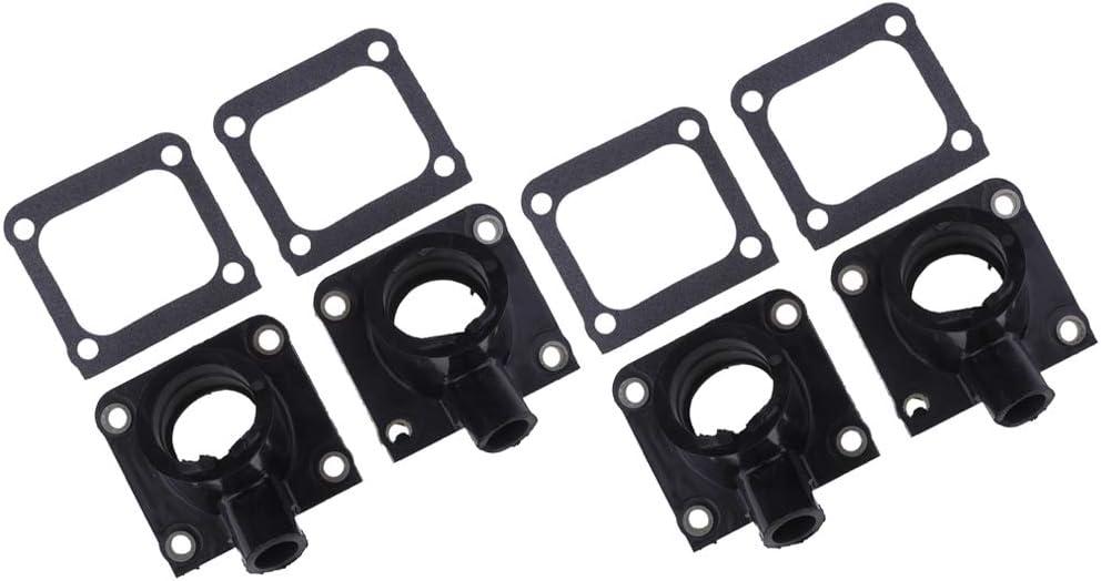 Carburetor Intake Manifold Boot /& Gasket for Yamaha Banshee 350 YFZ350 87-06 Set of 4