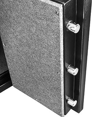 Barska AX12674 FV-500 Fireproof Vault Safe, Black