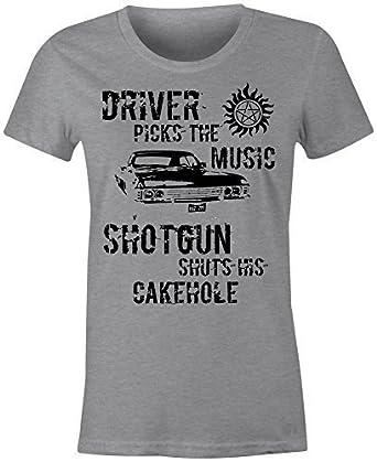 Cintre Pour Femmes Winchester Conducteur T Shirt Amazon Fr