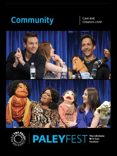 Weathered Cast - Community: Cast and Creators Live at PALEYFEST 2013