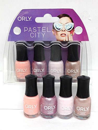 Orly Mani Mini Kit - Pastel City - 4 colors x 0.18oz/5.3ml