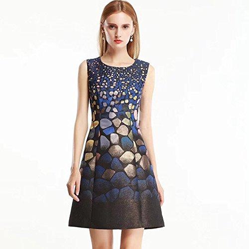 Abito Blu Fashion LYQZCYJD 2018 Big New Swing Slim Xxl zTgP0vdPq