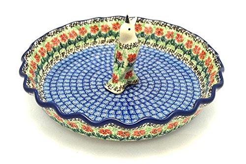 Polish Pottery Pie Set - Maraschino