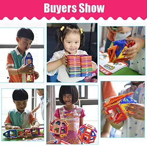 JohnCalbe A&T Big Size Magnetic Designer Construction Set Model & Building Toy Magnets Magnetic Blocks Educational Toys for Children by JohnCalbe (Image #2)