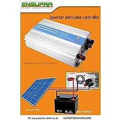 Ensupra 1000 Watt Solar Power (120V AC),Powered by 100-Watt Solar Panel, Simply add a 12V Battery;Plug & Play Solar, Get 30% Federal Tax Credit