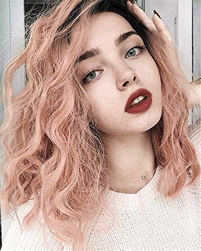 Peluca Vébonnie de color, melena (peluca de melena ondulada). Pelucas