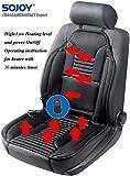 #2: Sojoy SJ154A Universal 12V Heated Car Seat Heater Heated Cushion Warmer High/Low/Temp Switch, 30 Mins Timer SJ0007-3-07, Black