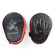 Amazon Lightning Deal 95% claimed: Relefree® Boxing Mitt Focus Punch Pad Training Glove Karate Muay Thai Kick New