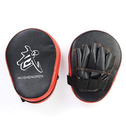 Amazon Lightning Deal 95% claimed: Relefree® Boxing Mitt Focus Punch Pad Training Glove Karate Muay Thai Kick New