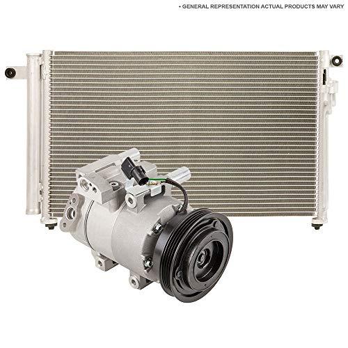 AC Compressor w/A/C Condenser & Drier For Lincoln Continental 1993 1994 - BuyAutoParts 60-86822R3 ()