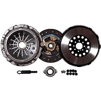 QSC Stage 1 Clutch Chromoly Flywheel Kit Eclipse 00-05 GT GTS Spyder 3.0L V6