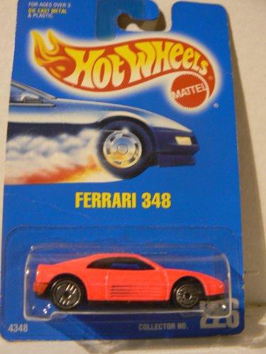 Hot Wheels Ferrari 348 All Blue Card Ultra Hot Wheels Collector No. 226