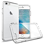 Spigen Ultra Hybrid iPhone 6S Case with Air Cushion Technology and Hybrid Drop Protection for iPhone 6S / iPhone 6 - Crystal Clear