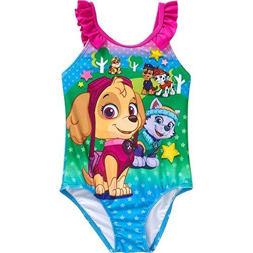 Paw Patrol Girls Swimwear Swimsuit (Toddler/Little Kid) (2T)