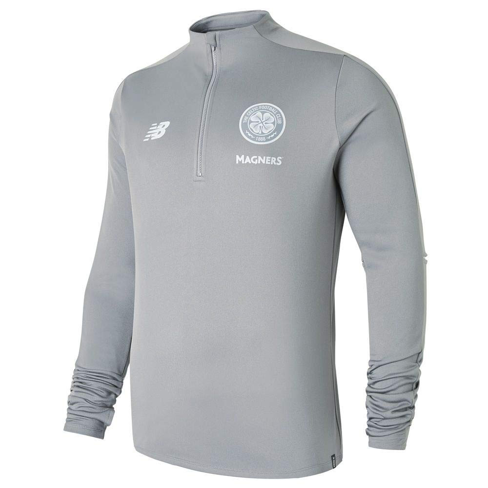 New Balance 2018-2019 Celtic Training Hybrid Sweat Top (Grau)