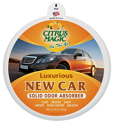 Citrus Magic On The Go Solid Air Absorber Luxurious New Car, 8-Ounce