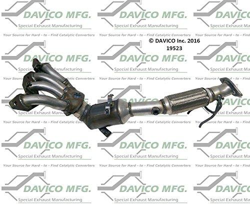 Non CARB compliant MagnaFlow 51166 Direct Fit Catalytic Converter