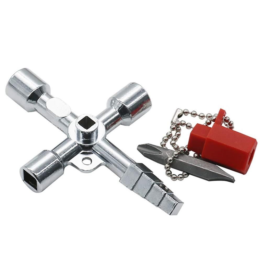 L-DiscountStore Scatola chiave dellelevatore dellelevatore del treno della testa della pagoda della chiave a chiave del commutatore dellelevatore del treno dellincrocio chiave chiave del triangolo