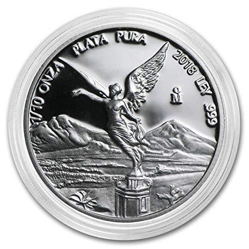 2018 MX Mexico Silver Libertad Commemorative Ungraded