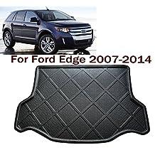 Car Boot Pad liner Cargo Mat Tray Trunk Floor Protector Mat Custom Fit Ford Edge 2007 2008 2009 2010 2011 2012 2013 2014