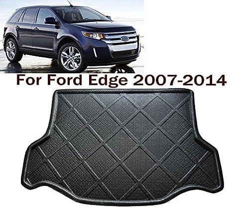 Car Boot Pad Liner Cargo Mat Tray Trunk Floor Protector Mat Custom Fit Ford Edge