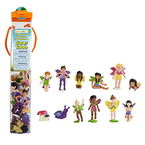 Safari Ltd. Super TOOBs - Friendly Fairies - Quality Construction from Phthalate, Lead and BPA Free Materials - for Ages 3 and Up for $<!--$18.99-->