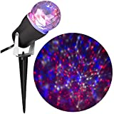 LightShow LED Kaleidoscope Red - White and Blue