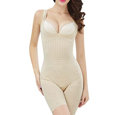 25f4f2a551c51 Amazon.com  AVENBER Women Shapewear Loss Weight Slimming Bodysuit Lingerie  Corrective Underwear  Clothing